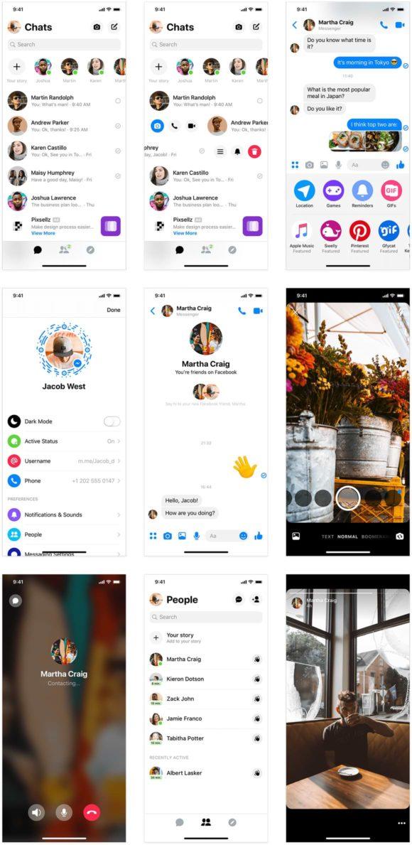 Messenger UI