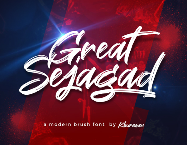 Great Sejagad Free Brush Font