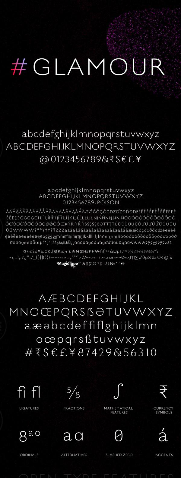 Poison Font Letters