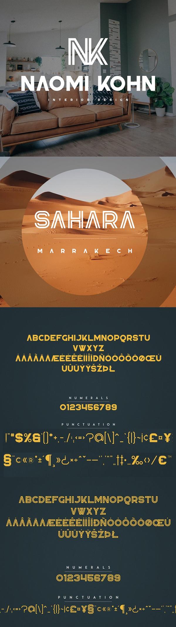 Republiko Font Letters
