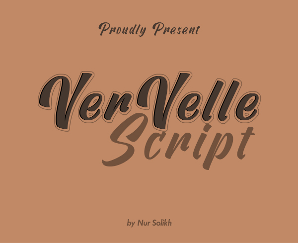 Vervelle Free Script Font