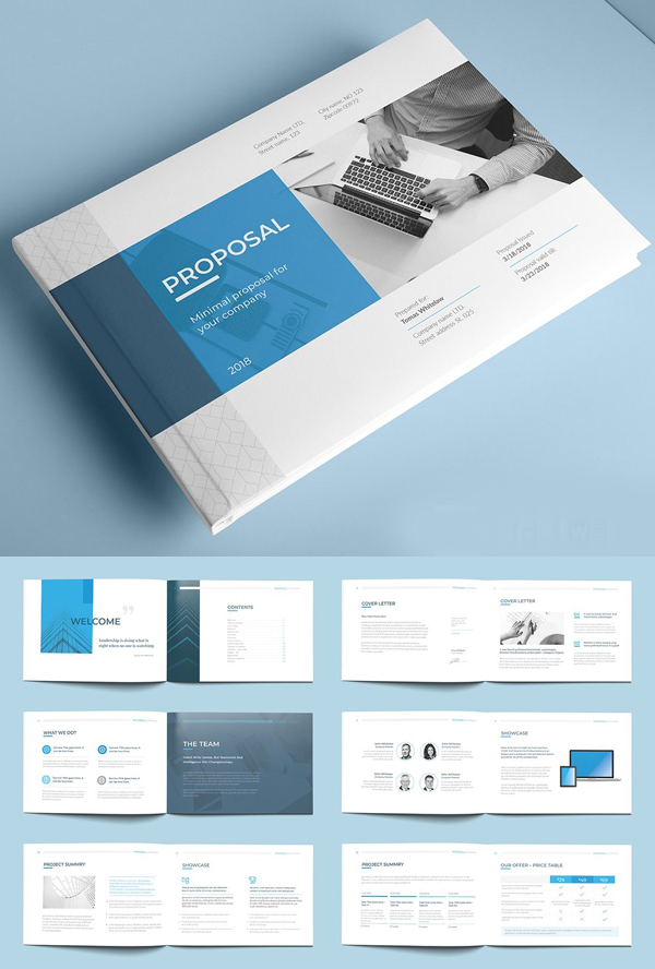 A5 Proposal Brochure Template
