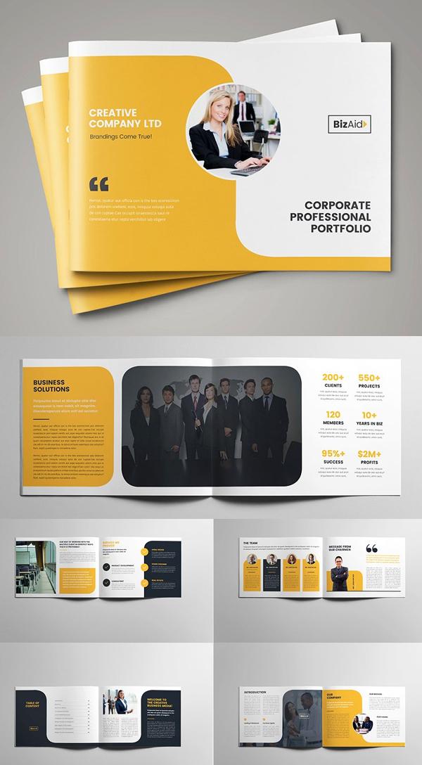 Company Profile / Landscape Brochure Template