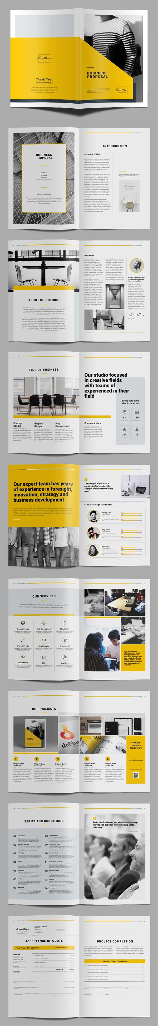 Kreatype Proposal Brochure Template