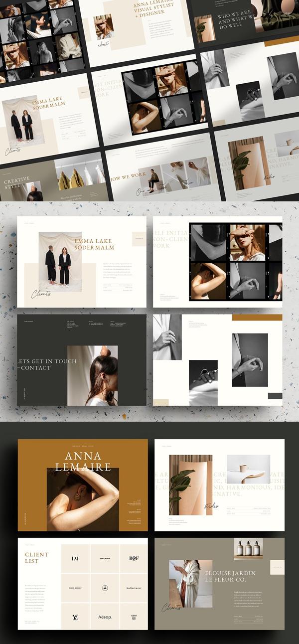 Melrose – Creative Portfolio Brochure Template