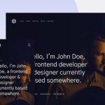 Ethos: Free portfolio HTML template