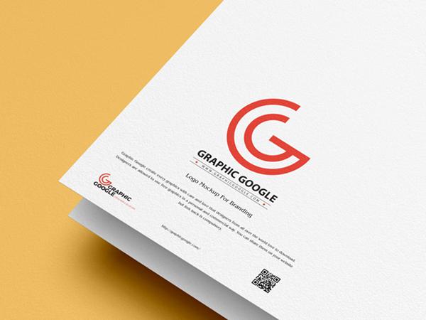Free Modern Logo Mockup For Branding