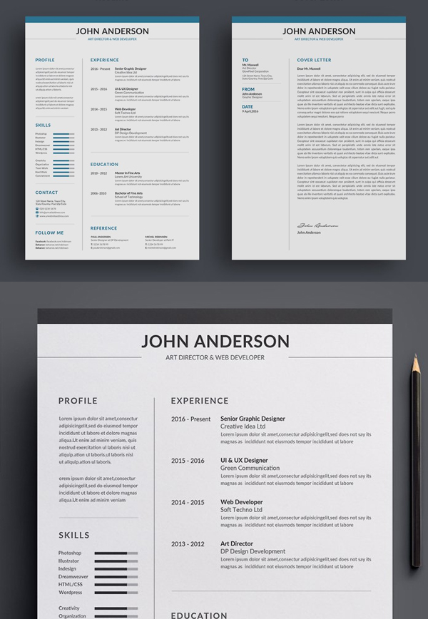 Best Attractive Resume / CV