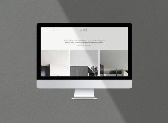 Arizona HTML template preview