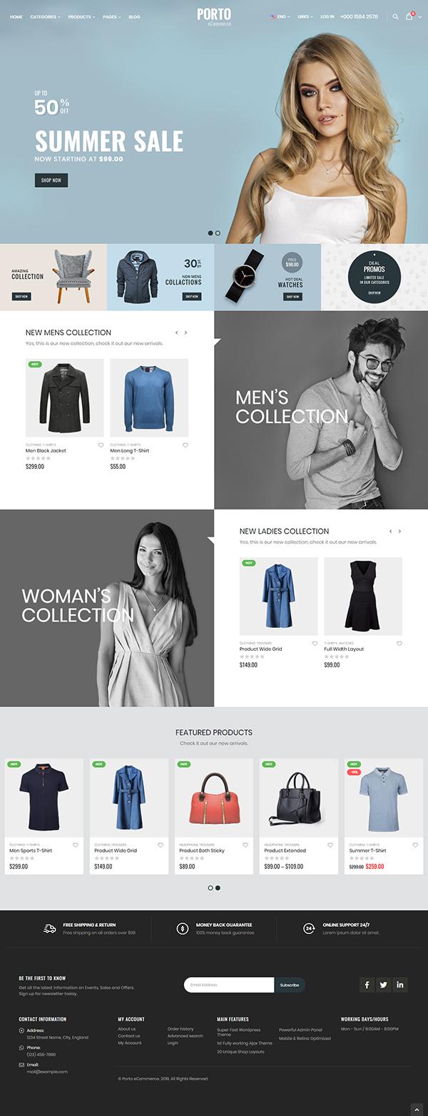 Porto - Multipurpose & WooCommerce Theme