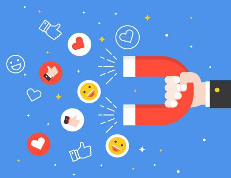 online business social media visibility