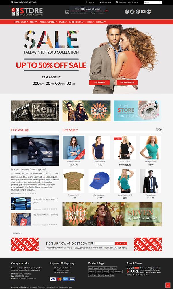 GoodStore - WooCommerce Theme