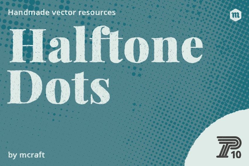 Halftone Dots Texture Pack