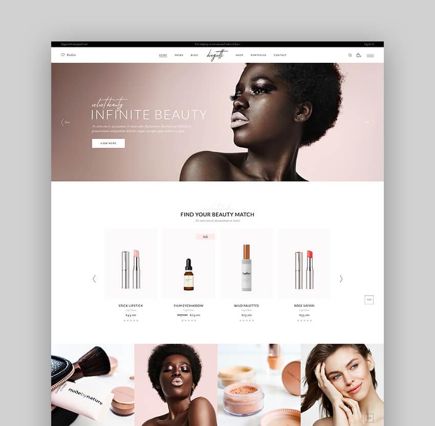 Biagiotti - Best Beauty and Cosmetics WooCommerce Theme