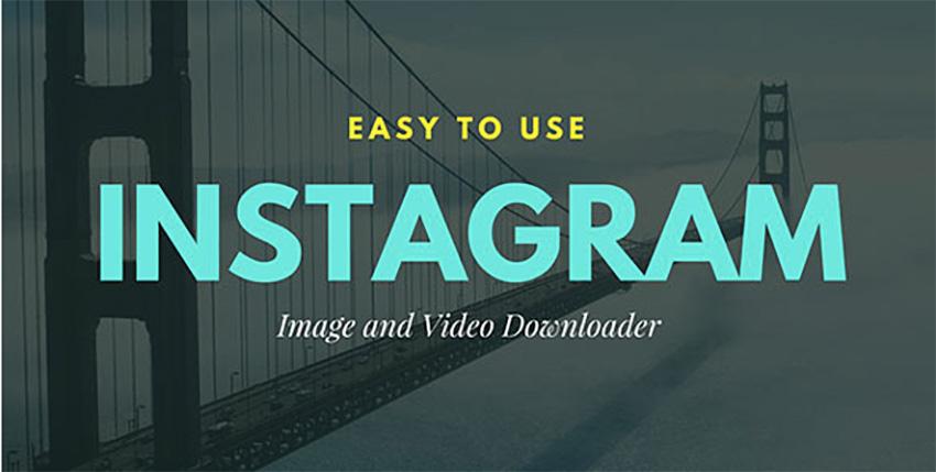 Instagram downloader script