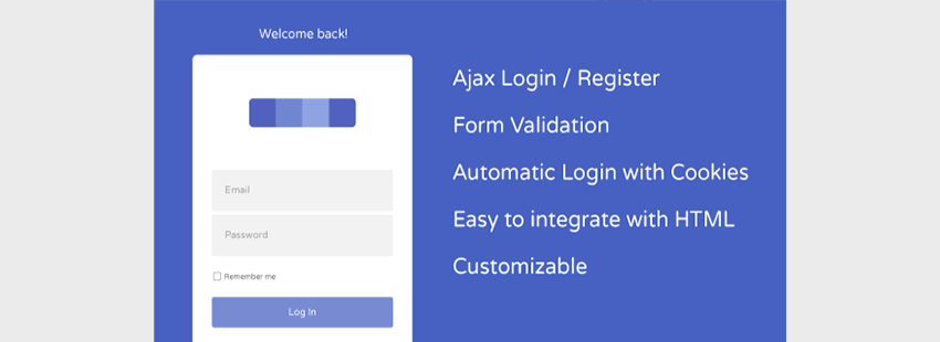 AJAX User Registration and Login
