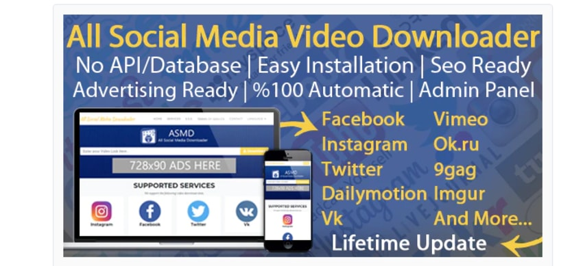All social media video downloader