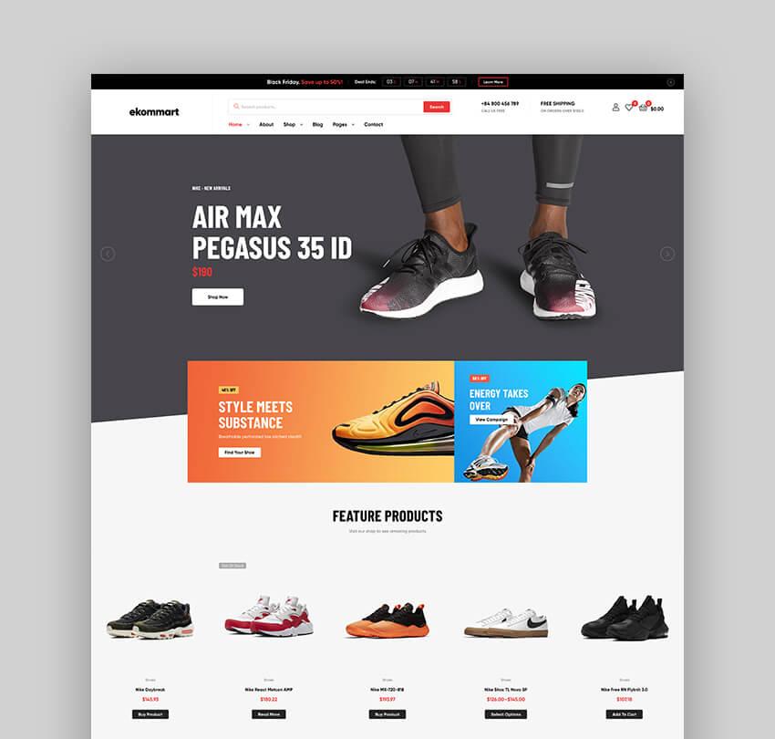Ekommart - All In One WordPress WooCommerce Theme
