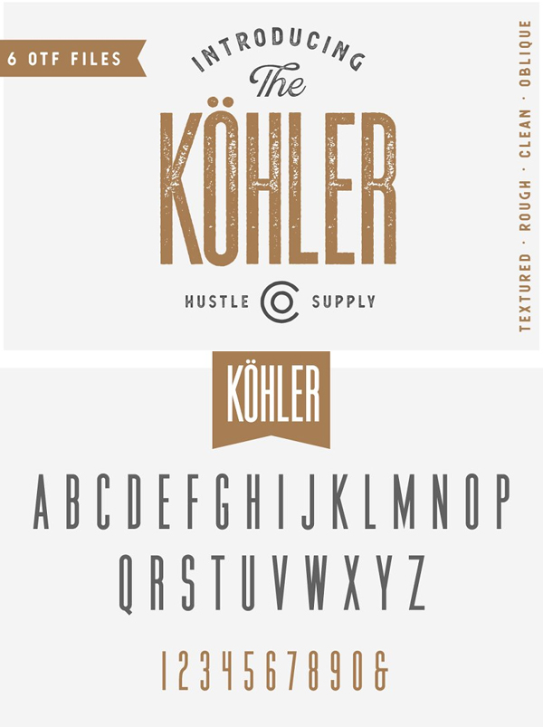 Kohler - Ultra Condensed Family