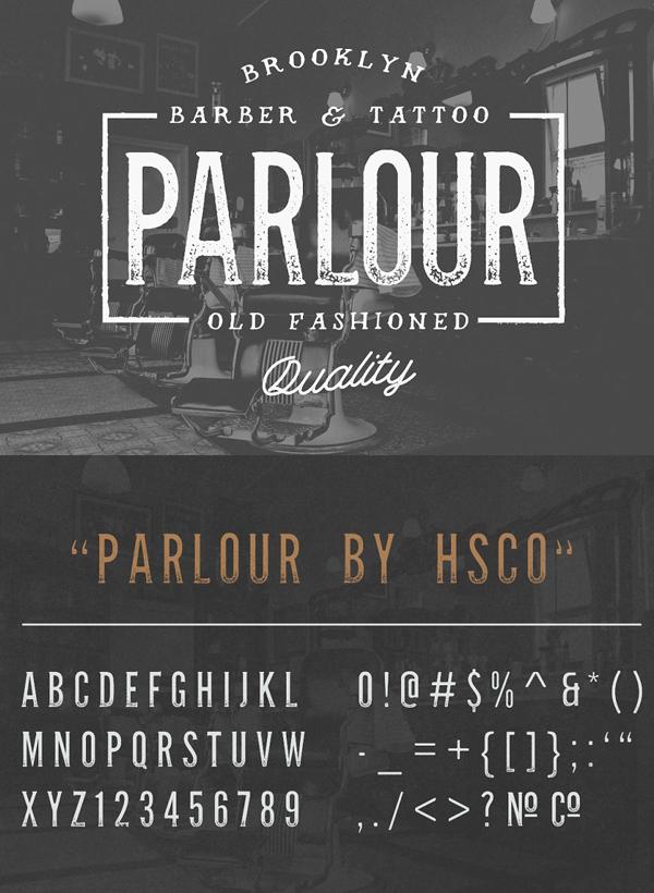 Parlour - Vintage Serif