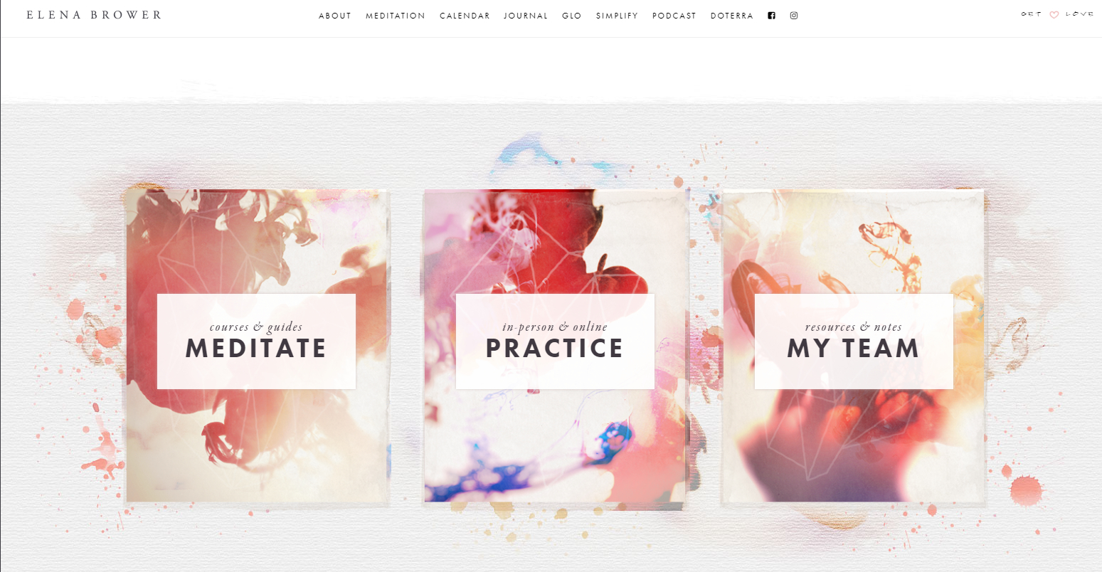 Yoga Website Designs