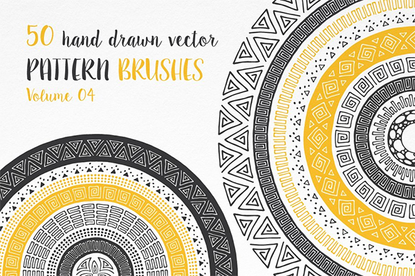Hand Drawn Pattern Brushes