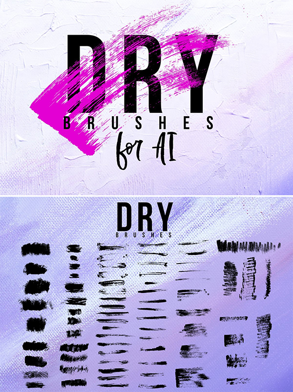Dry brushes for AI