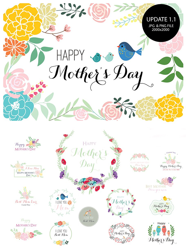 Happy Mother's Day Set