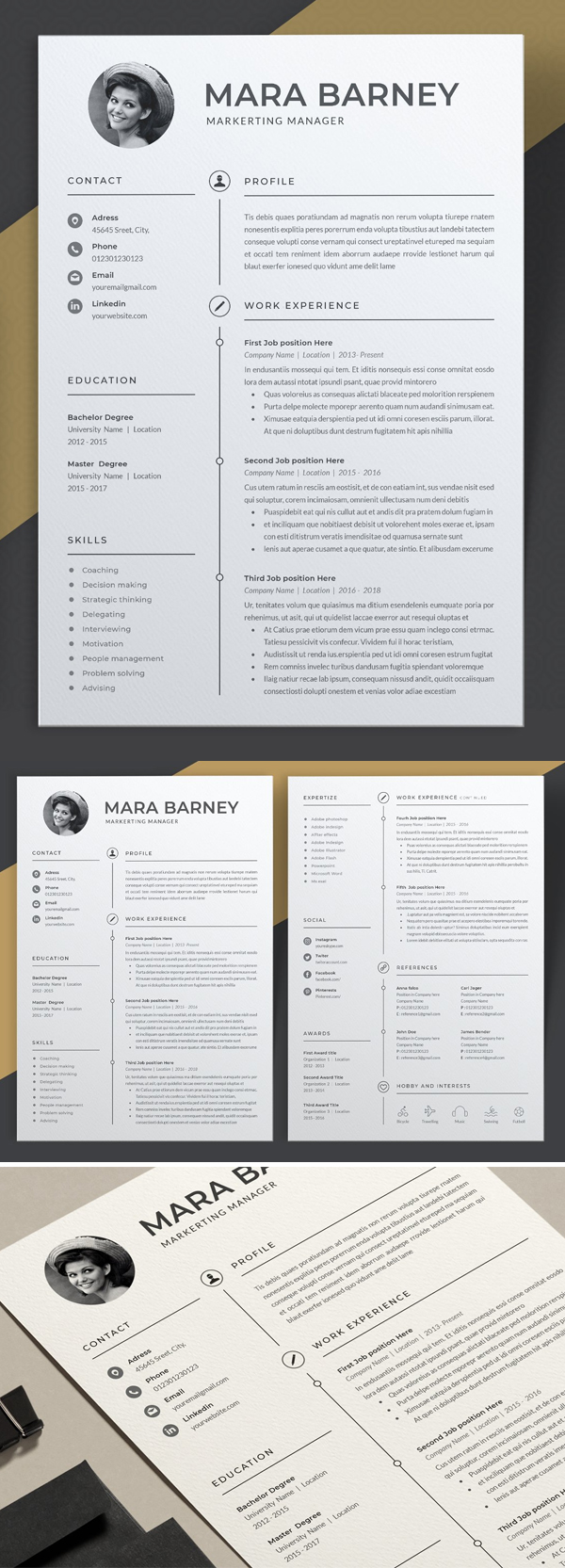Creative Resume Template | Cv