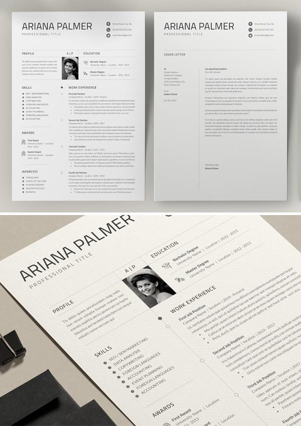 Creative Word Resume / Cv