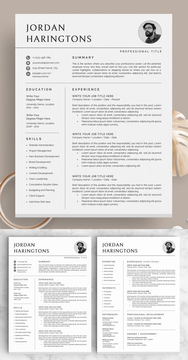 Resume/CV - The Jordan