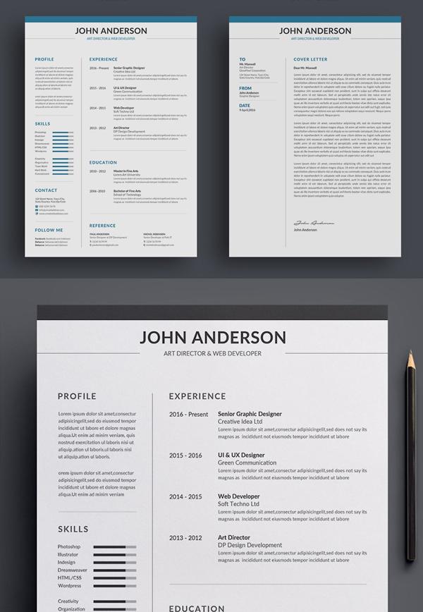 Best Attractive Resume / CV