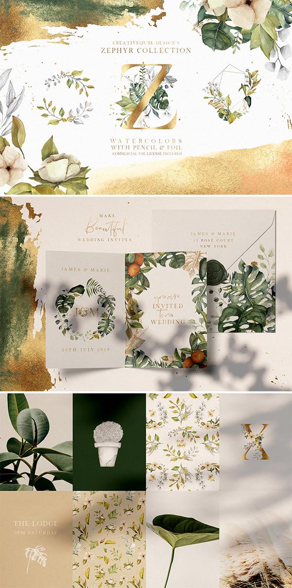 Zephyr Watercolor Collection