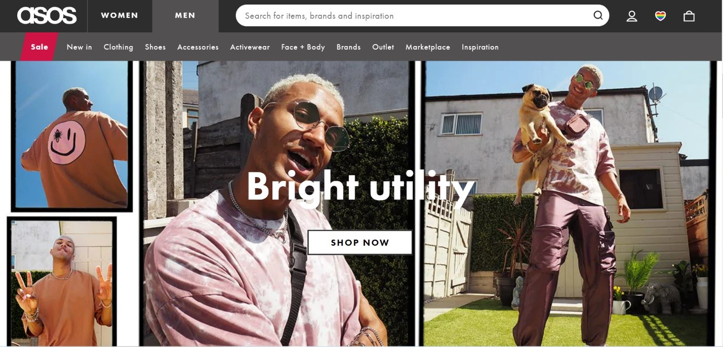 Asos Web design