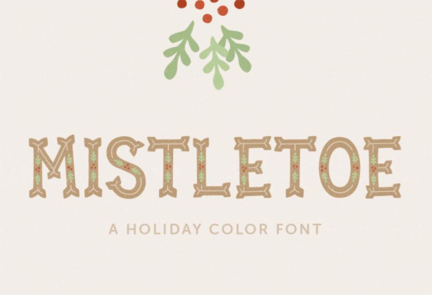 Mistletoe Font