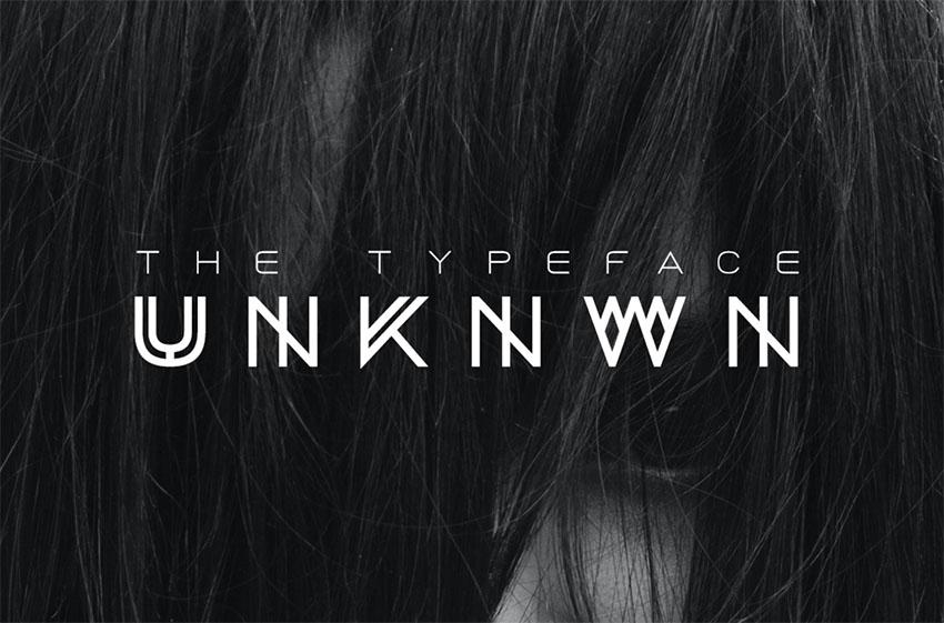 BLACK - Monogram Font Download