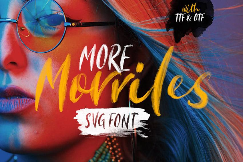Morriles SVG Font