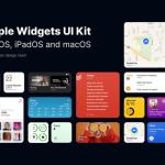 iOS 14 Widgets UI for Figma