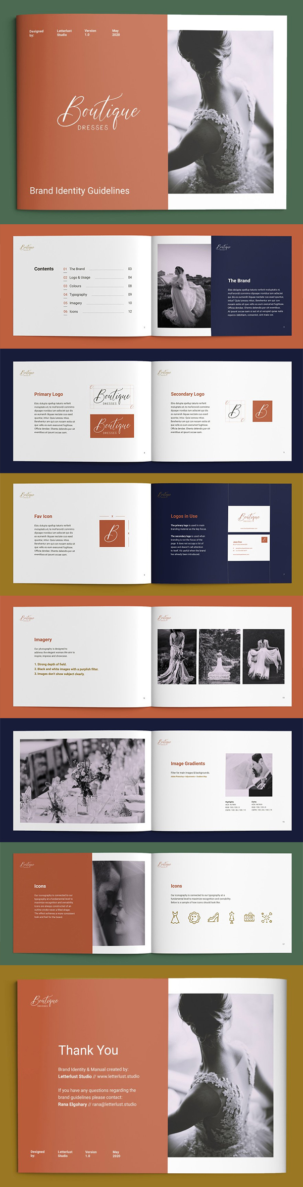 Brand Brochure Template Design