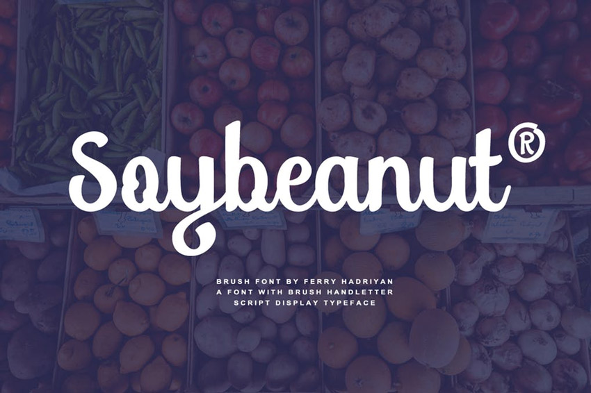 Soybeanut Font