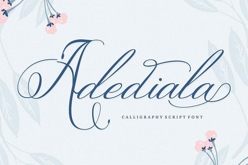 Adediala Script Font