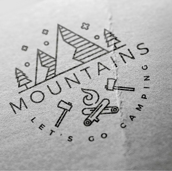 How To Design A Line Art Logo in Adobe Illustrator Tutorial