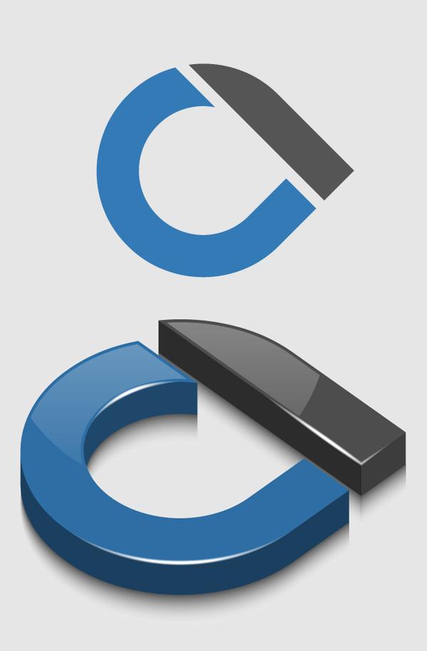 How to Create 3D Glossy Logo in Adobe Illustrator