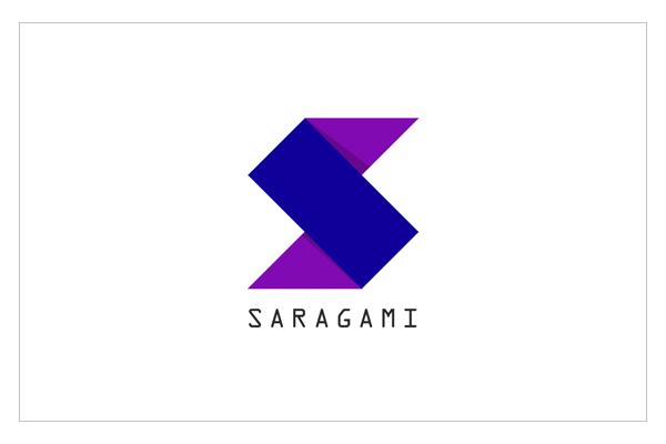 Sara's Origami Logo by Subash Matheswaran