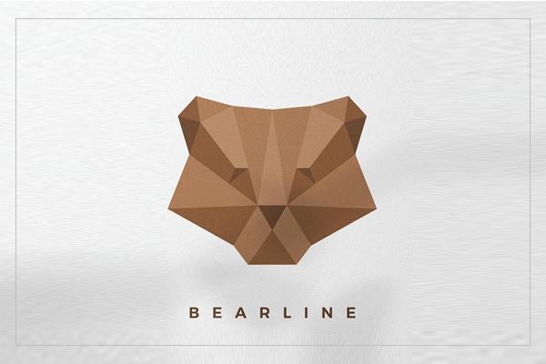 Bear Origami Logo
