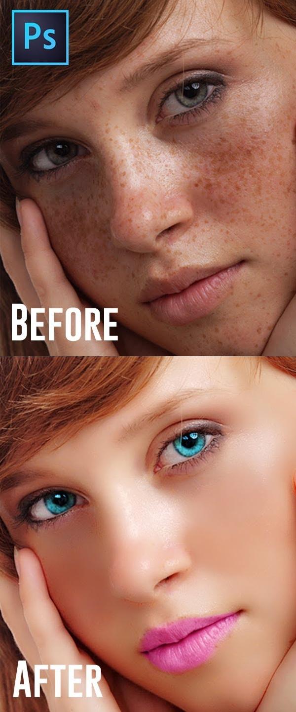 Learn Photo Retouching (easiest way) Photoshop Tutorial