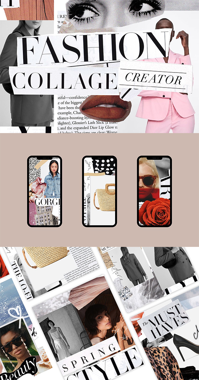 Fashion Collage Creator Kit