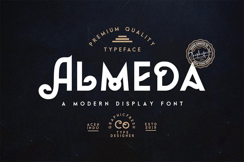 Almeda Vintage Font