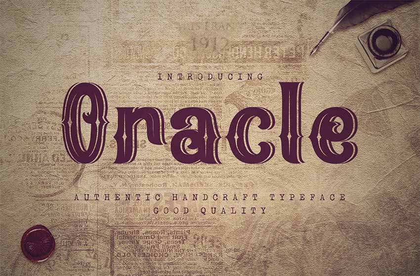 Oracle - Retro Vintage Font