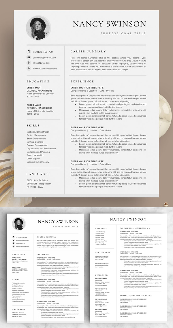 Resume / CV - The Nancy